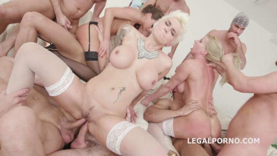 [HD] Lara De Santis, Milan, Tina Kay Mix - SiteRip-00:07:50 | MILF, DAP, music, big tits, orgy, anal - 509,8 MB