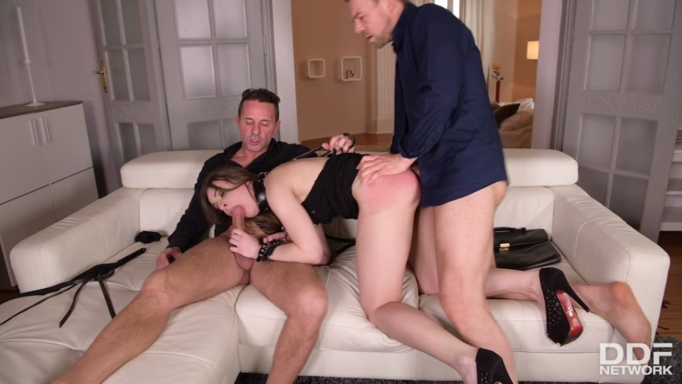 [Full HD] Lilit Sweet - Double Penetration Treatment Mix - SiteRip-00:34:41 | Anal, Threesome, Hardcore, Handcuffs, Dress, MMF, Spanking, Cum On Ass, Ass To Mouth, Whip, BDSM, Fetish, Collar, Cum In Mouth, Blowjob, DP - 2 GB