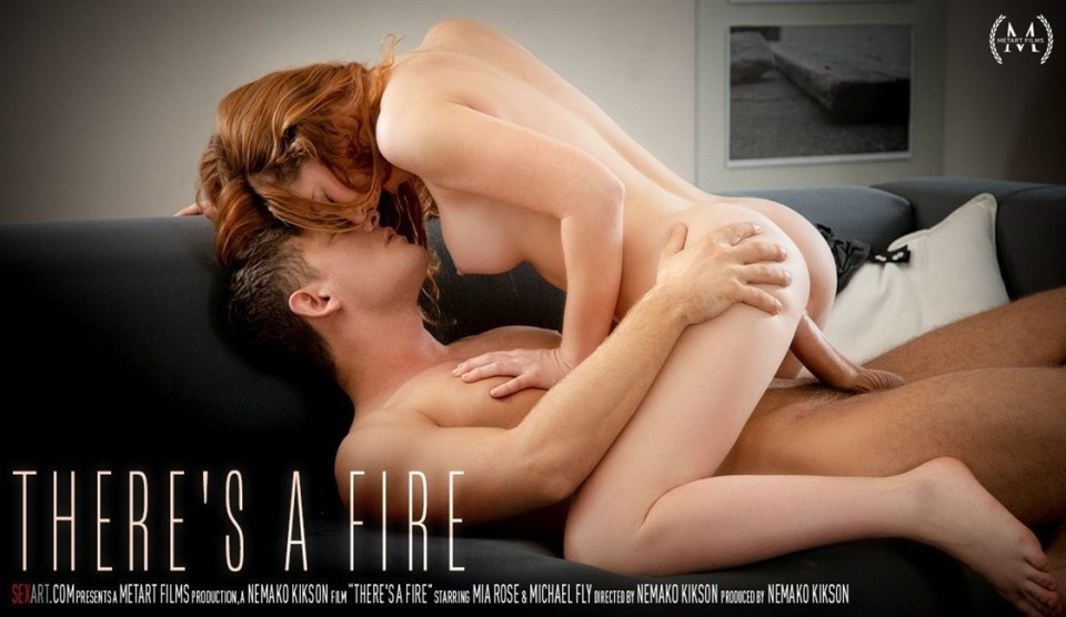 [HD] Mia Rose & Michael Fly - Theres A Fire Mia Rose - SiteRip-00:21:37 | Couple, All Sex, Pierced, Handjob - 626,5 MB