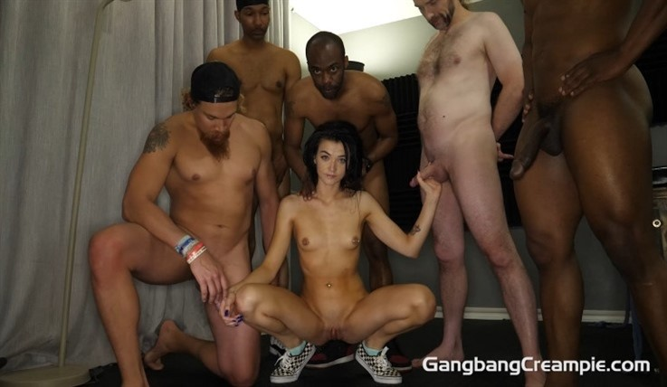 [Full HD] Rose Winters - GangBang Creampie 294 Rose Winters - SiteRip-00:42:39 | Tattoos, Gangbang, Blowjobs, Brunettes, Facial, Interracial, Pierced, Shaved, Natural, Teen, Petite, 5 Creampies, Tattoos - 1,9 GB