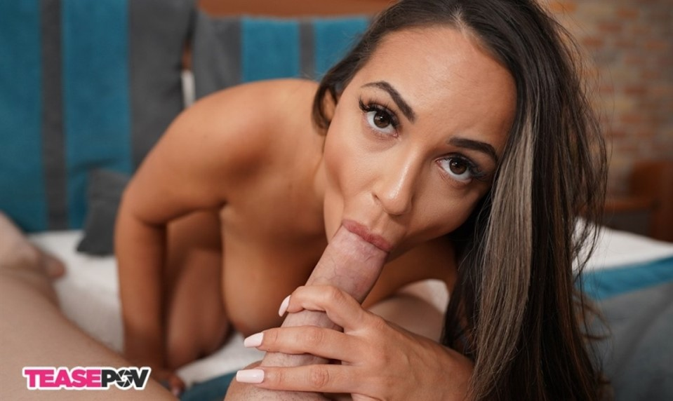 [Full HD] Sofi Ryan - Brunette Sexbomb Cock Tease Mix - SiteRip-00:11:48 | Big Tits, Handjob, Cumshot, POV, Busty, Masturbation, Blowjob - 353,2 MB