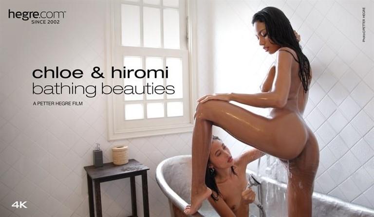 [4K Ultra HD] 2020-04-07 Chloe And Hiromi Bathing Beauties 4K Chloe And Hiromi - SiteRip-00:29:54 | skinny, lesbian, bathtub - 1,5 GB