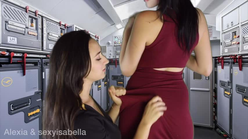 [Full HD] Alexia96 Mile High Club Alexia96 - ManyVids-00:10:25 | Pussy Eating,Smoking,Lesbians,Spanking F/F,Costume - 755,7 MB