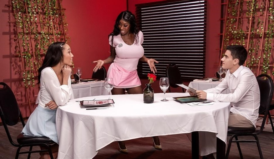 [Full HD] Alexis Tae, Mystique Alexis Tae, Mystique - SiteRip-00:36:18 | Natural Tits, Small Ass, High Heels, Waitress, Tattoo, Tittyfuck, Piercing, Blowjob, Sneaky, Athletic, Uniform, Small Tits, ...