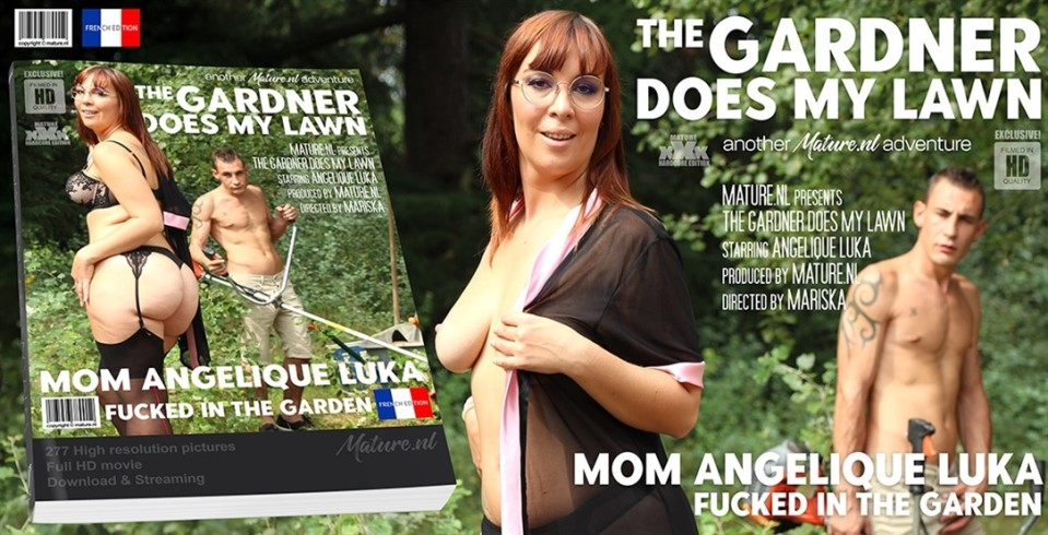 [Full HD] Angelique Luka - This gardner gets to plow the lawn from a hot mom in the garden Angelique Luka - SiteRip-00:37:50 | Masturbation, Blowjob, Creampie, Old, Big natural tits, Public, Cum - ...