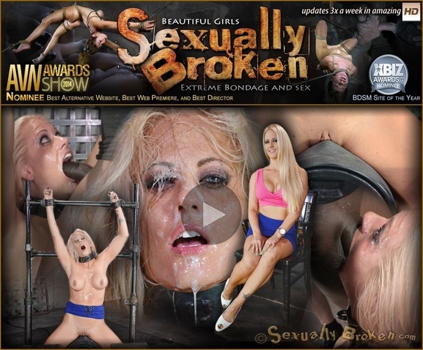 [HD] Big breasted bimbo MILF Holly Heart shackled to a sybian and throat trained by 2 cocks Holly Heart, Matt Williams, Jack Hammer - SiteRip-00:14:15 | Bondage, Domination, BDSM, Hardcore - 716 MB