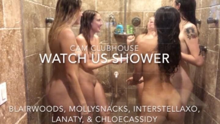 [Full HD] blairlennox 5 girls in the shower BlairLennox - ManyVids-00:10:49 | Girl Girl,Lesbians,Shower,Voyeur,Wet Look - 1,5 GB