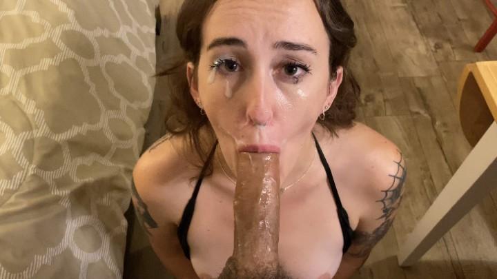 [4K Ultra HD] Blairlennox Rough Sloppy Face Fuck Hd BlairLennox - ManyVids-00:16:08 | Cumshots,Deepthroat,Face Fucking,POV Blowjob,Spit Fetish - 3,3 GB