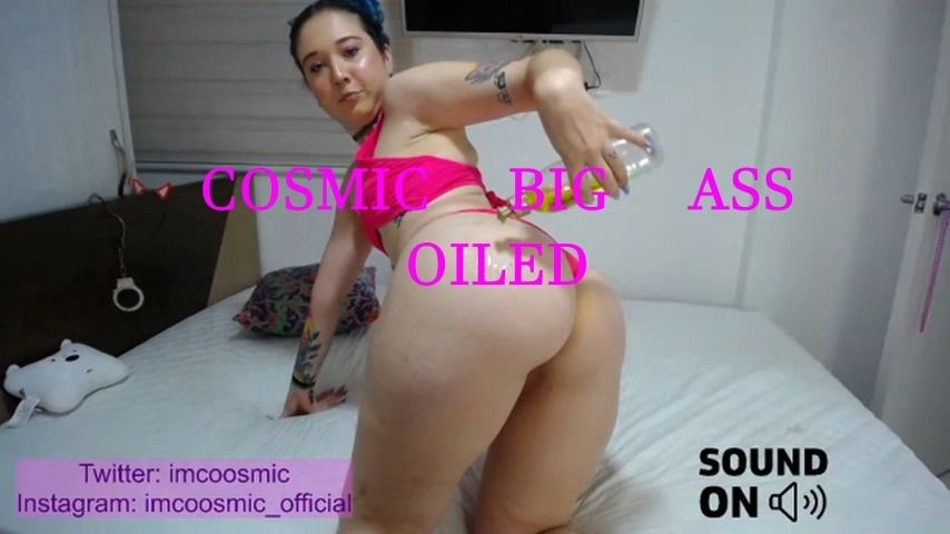 [Full HD] Coosmiclisa-Cosmic-Big-Ass-Oiled Coosmiclisa - ManyVids-00:01:12 | Ass Fetish,Ass,Lotion/Oil Fetish,Oil,Latina,SFW - 11,6 MB