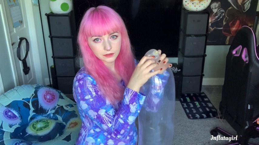 [Full HD] Inflatagirl Popping My Leftover Balloons Inflatagirl - ManyVids-00:05:59 | Balloon Stuffing,Balloons,Balloons B2P,Free,Latex,SFW - 181,1 MB