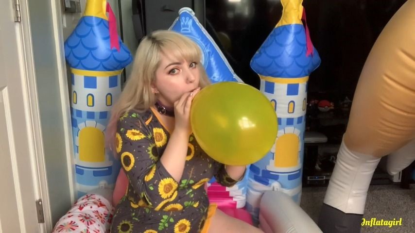 [Full HD] Inflatagirl Yellow Balloon Torments Me Until It Pops Inflatagirl - ManyVids-00:05:43 | Balloons B2P,Balloons,Inflatables,Latex,Fetish,SFW - 627,2 MB