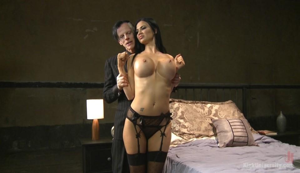 [HD] Jasmine Jae. Sex Bondage with Stockings Jasmine Jae - KINK-01:03:25   Brunette, Big Tits, BDSM, Pornstar, Hardcore, Blowjob, Stockings, Bondage - 2,3 GB