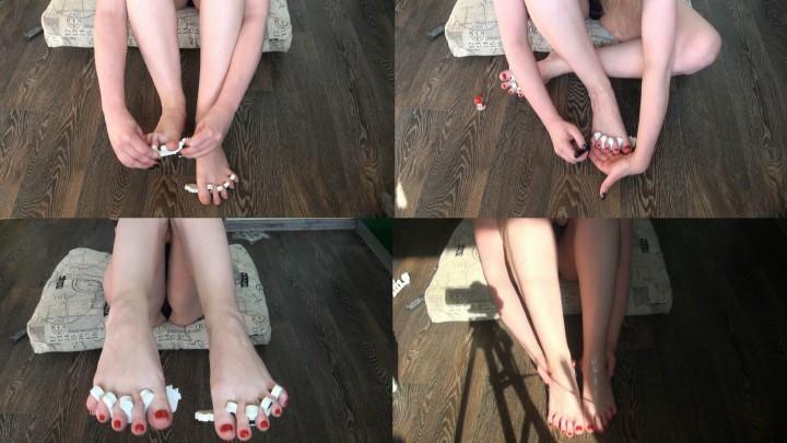 [Full HD] Julztaylor Doing My Pretty Toes Pedicure Video JulzTaylor - ManyVids-00:13:46   Feet,Oil,Pedicures,Toenail Fetish,Toenail Polish,SFW - 462,6 MB