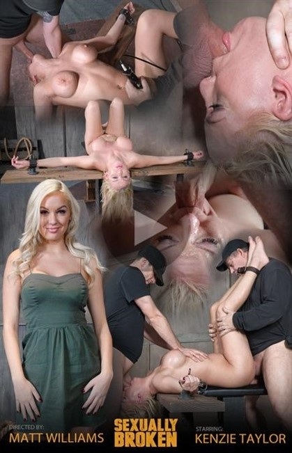 [HD] Kenzie. Taylor Is brutally face fucked upside down and roughly fucked in bondage Kenzie Taylor - SiteRip-00:10:59 | Deepthroat, BJ, BDSM, Humiliation, All Sex - 596,8 MB