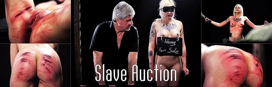 [Full HD] Nessy - Slave Auction Nessy - Elitepain-01:31:09   Spanking, Hardcore, BDSM, Torture - 3 GB