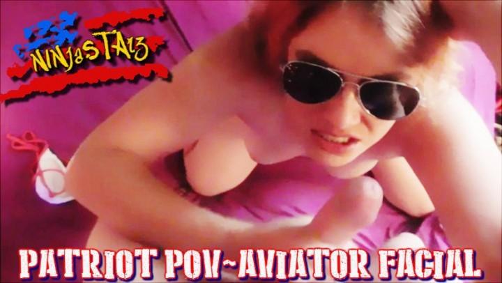 [Full HD] ninjastarz patriot pov aviator facial NinjaStarz - ManyVids-00:07:59   Deepthroat,Eye Glasses,Facials,Independence Day,POV - 1,1 GB