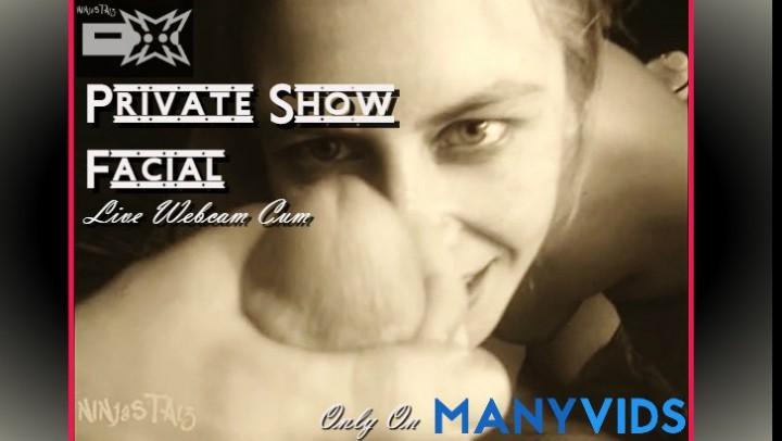 [Full HD] ninjastarz private show facial live webcam cum NinjaStarz - ManyVids-00:06:30 | Cum Swallowers,Cumshots,Facials,Webcam - 741,8 MB
