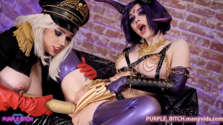 [Full HD] Purple Bitch 1St Warhamner Porn Purple_Bitch - ManyVids-00:44:36 | Anal,Big Ass,Big Tits,Cosplay,Lesbians - 4,3 GB