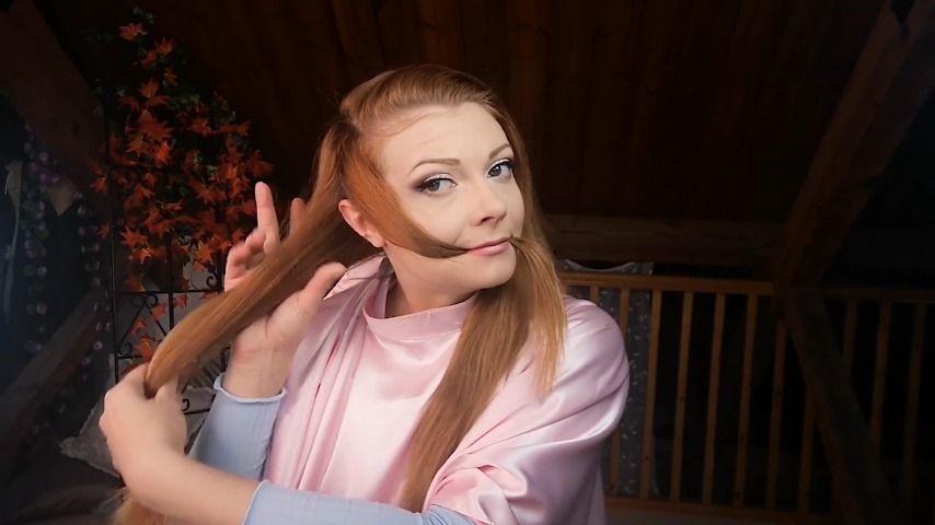 Scarlettfoxett-Real-Hair-Trim-Whilst-I-Talk-To-You