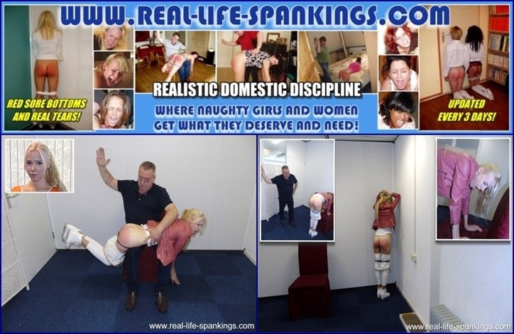 [Full HD] The first spanking of Vanessa from Sweden Vanessa, Mike - SiteRip-00:12:53   Spanking - 760,2 MB
