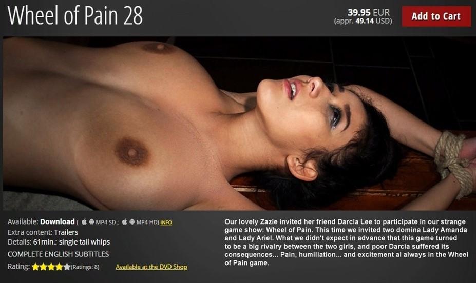 [HD] Wheel of Pain 28 Darcia Lee ,  Lady Amanda ,  Lady Ariel - ElitePain.com-01:00:14   Whipping ,  Torture ,  Humiliation ,  Spanking ,  BDSM ,  Pain - 1 , 8 GB
