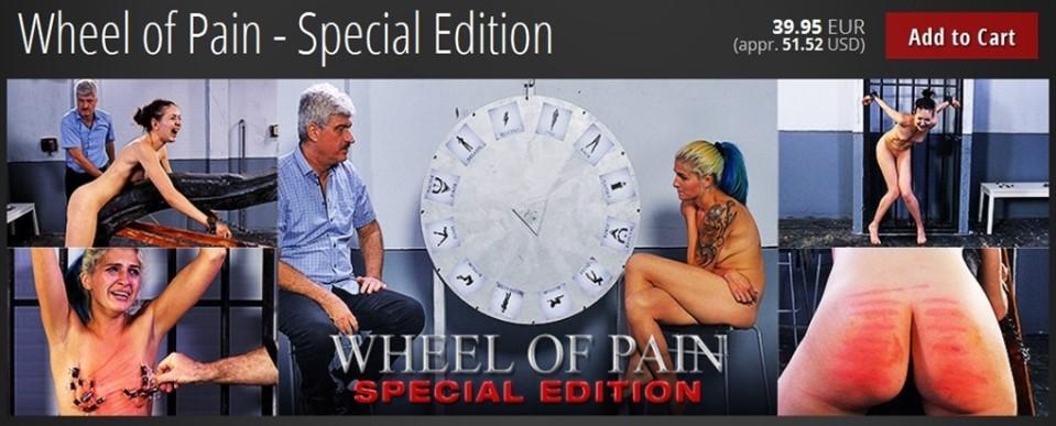 [Full HD] Wheel of Pain - Special Edition Mix - ElitePain-01:40:02   Bondage, Flagellation, Spanking, Torture, BDSM - 3,7 GB