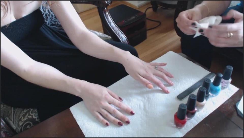 [HD] Canadiansammy Sammy Gets Her Nail Polish Removed 2015 12 16 CanadianSammy - Manyvids-00:11:23 | Size - 415 MB