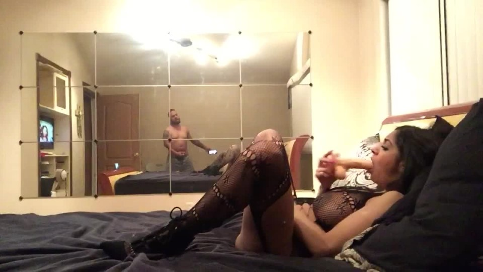 Daddy Slave Fucking Herself While I Jerk Off