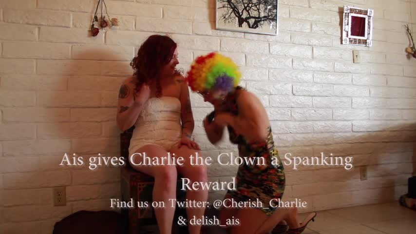 [HD] Delishxaisling Spanking My Sexy Clown Lover Delishxaisling - ManyVids-00:06:01 | Lesbian Domination, Clowns, Spanking, Spanking F/F, Sensual Domination - 175,4 MB