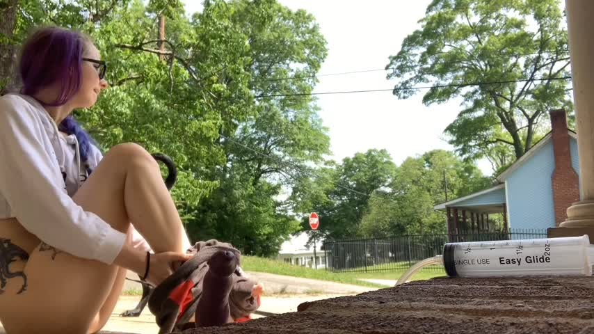[Full HD] eloraviolet outside dragon ride EloraViolet - ManyVids-00:02:13   Outdoors, Bad Dragon, Dildo Fucking, Solo Female, Riding - 117 MB