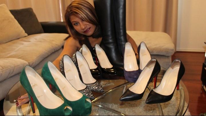 [SD] Exotic Portia Portias Louboutin Shoe Collection Exotic Portia - ManyVids-00:18:06 | Ebony, High Heels, Hot Wives, Mature, Shoe Fetish - 362,7 MB