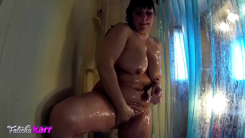[Full HD] Falicha Karr Being Watched In The Shower Falicha Karr - ManyVids-00:11:35 | Shower Scenes, BBW, Curvy, Wet Look, Voyeur Cams - 400,5 MB