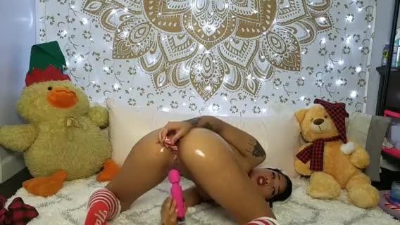 [LQ] Honey Gold Santas Little Butt Slut Honey Gold - ManyVids-00:16:30 | Anal Masturbation, Anal Play, Asian, Butt Plug, Vibrator - 54,1 MB