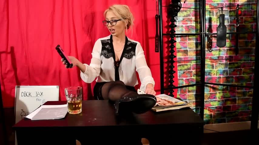 [Full HD] Jamiett The Boss JamieTT - ManyVids-00:11:32 | High Heels, Feet, Foot Fetish, Femdom, Role Play - 1,1 GB