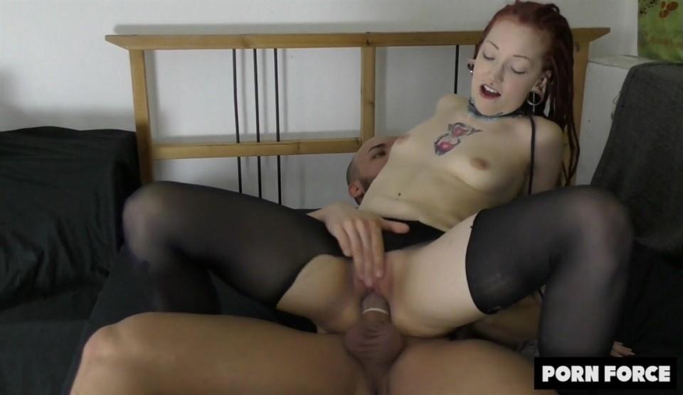 Jezzi Cat - Redhead Goth Girl Meets Instagram Fuckboy MrBigFatDick