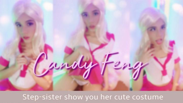 [HD] Kamgirlove Step Sister Show You Her Cute Costume Kamgirlove - ManyVids-00:05:53   Cosplay,JOI,Kink,Masturbation,Solo Female - 290,2 MB