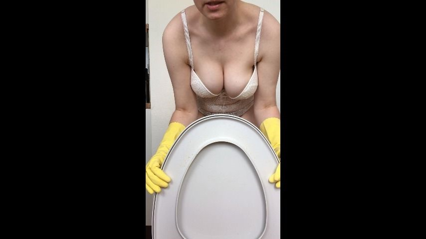[Full HD] Kinkyemma Youll Lick My Dirty Toilet Ring Clean KinkyEmma - ManyVids-00:05:41 | Dirty Talking,Toilet Slavery,Toilet Fetish,Big Tits,Pee - 614,9 MB