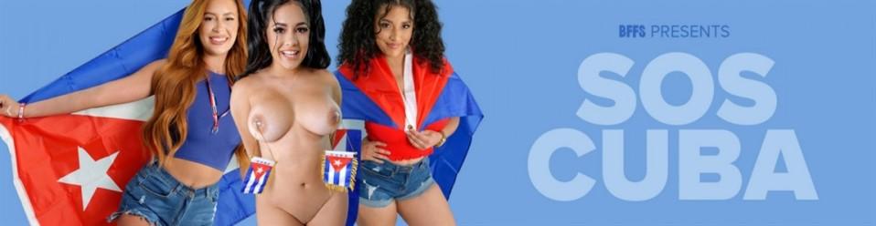 Scarlett Sommers, Serena Santos & Gabriela Lopez - Culos For Cuba