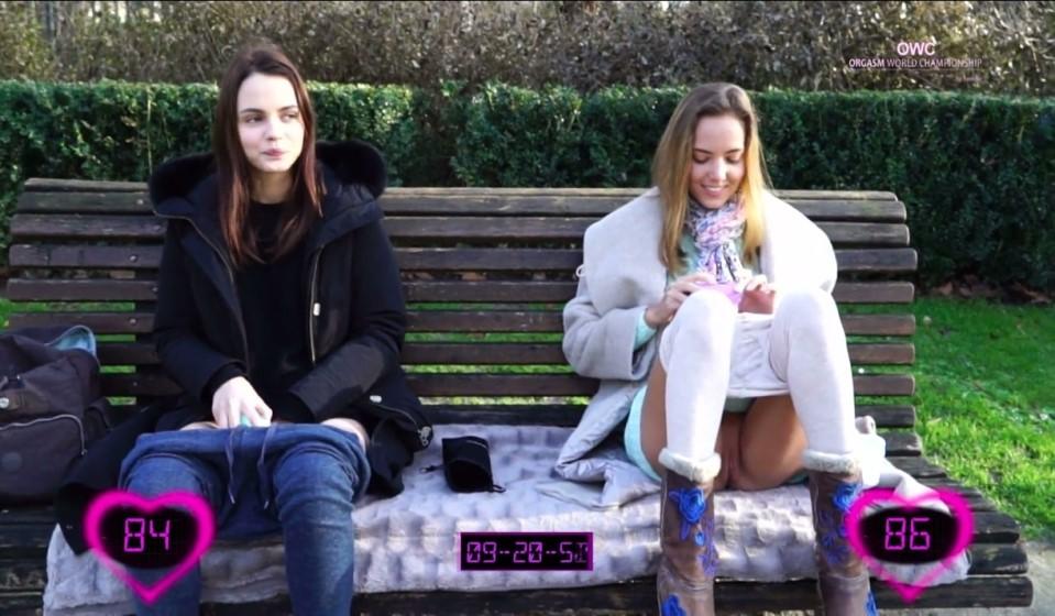 [Full HD] 2016-03-07 Ariel Vs Katya Clover - Public Match Mix - SiteRip-00:14:57 | Real Orgasm, Handjob, Massage, Outdoor - 536,6 MB