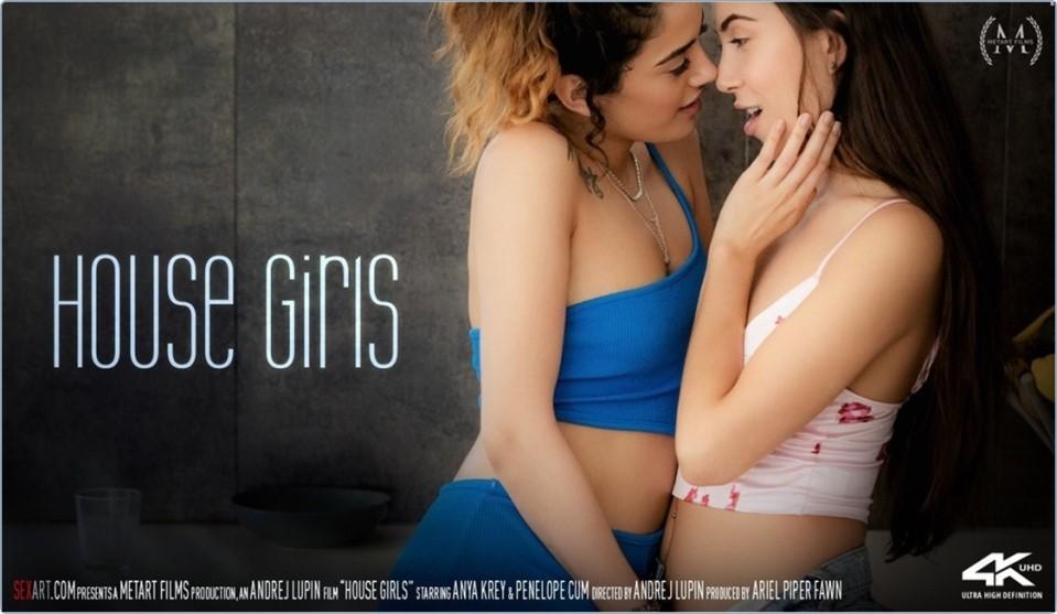 [4K Ultra HD] Anya Krey &Amp; Penelope Cum - House Girls Anya Krey &Amp; Penelope Cum - SiteRip-00:22:24   Kitchen, Brunette, Fingering, Indoors, Couch, Tattoo, Lesbian, Breasts - 6,3 GB