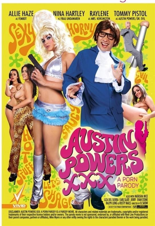 [LQ] Austin Powers XXX A Porn Parody Allie Haze, Raylene, Nina Hartley, Liza Del Sierra, Natasha Nice - Vivid-01:57:45   Feature, Spoofs - 1,3 GB