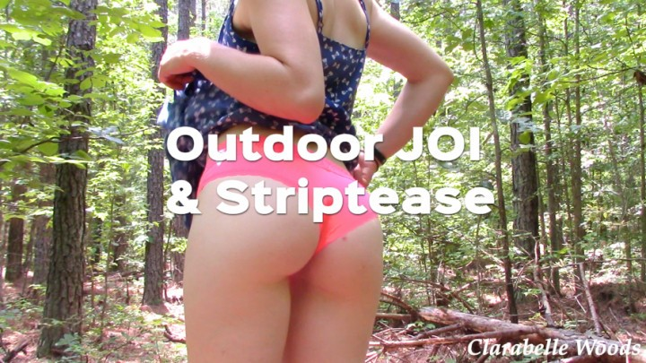 [Full HD] Clarabelle Woods Naughty Outdoor Strip Amp Joi Clarabelle Woods - ManyVids-00:05:49   Ass Fetish, Cum Countdown, Exhibitionism, JOI, Outdoors - 544,3 MB