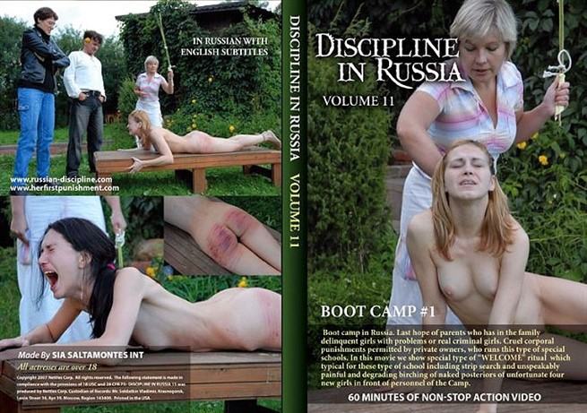 [SD] Discipline In Russia Volume 11 - Boot Camp 1) Mix - Nettles Corp.-00:57:41 | BDSM - 507,6 MB