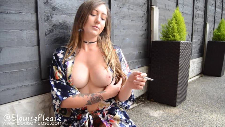 [HD] Elouise Please Smoking In A Silk Robe Elouise Please - ManyVids-00:05:22   Smoking, Silk &Amp;Amp; Satin, Long Hair, Outdoors, Topless - 468,8 MB