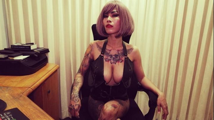 [Full HD] Inkedmonster Leather Wearing Asian Sucks And Fucks InkedMonster - ManyVids-00:08:43   Asian, Big Tits, Fucking, Leather, Tattoos - 1 GB