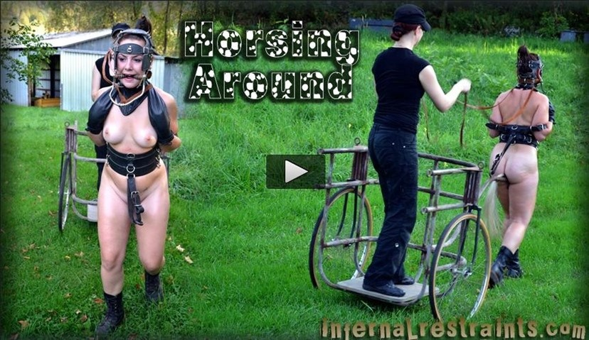 [HD] Jan 6, 2012 Horsing Around Sasha Claire Adams Sasha, Claire Adams - SiteRip-00:58:08 | Toys, Torture, BDSM, Humilation, Bondage - 654,1 MB