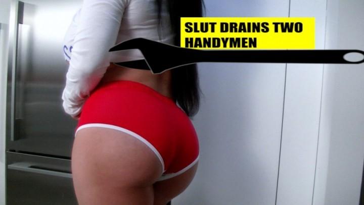 [HD] Korina Kova Korina Kova Hd Slut Drains 2 Handymen Korina Kova - ManyVids-00:16:48   Role Play, Big Boobs, Squirting, Big Ass, Cumshots - 272,3 MB