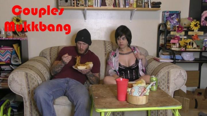 [Full HD] Lovelyliv Couples Mukkbang Lovelyliv - ManyVids-00:18:04   Eating, Food, Food Stuffing, Food Porn, Facestuffing / Overeating - 1,2 GB
