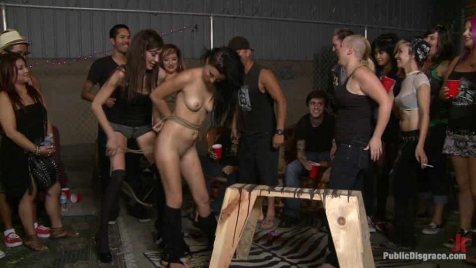 [HD] Mandy Sky. Brand New Model Gets The Full Public Disgrace Experience - ASS ALERT Mix - SiteRip-00:57:39   BDSM, Hardcore, Public, Domination - 2,1 GB