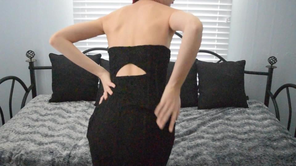[Full HD] Misskittymoon Little Black Dress MissKittyMoon - ManyVids-00:12:14 | Garter &Amp;Amp; Stockings, Hitachi, Masturbation, Redhead, Solo Female - 1,4 GB